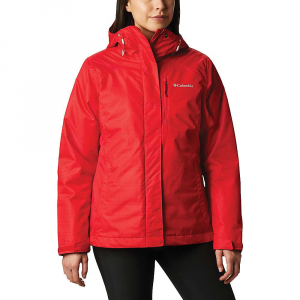 Columbia Women's Whirlibird IV Interchange Jacket - XL - Red Lily Simple Lines Print / Beet