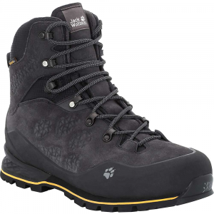 Jack Wolfskin Men's Wilderness Texapore Mid Boot - 8 - Phantom