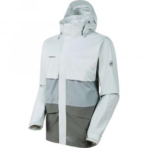 Mammut Men's Heritage HS Hooded Jacket - Large - Titanium/Granit/Highway