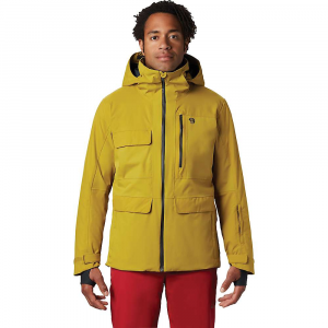 Mountain Hardwear Men's Firefall/2 Insulated Jacket - Medium - Dark Citron