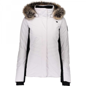 Obermeyer Women's Tuscany II Jacket - 14 Petite - White