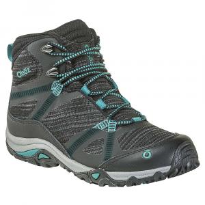 Oboz Women's Lynx Mid BDry Shoe - 8 - Black / Aqua