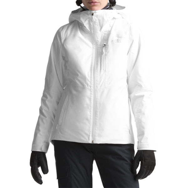 Women's The North Face Clementine Triclimate Jacket in White Size Medium