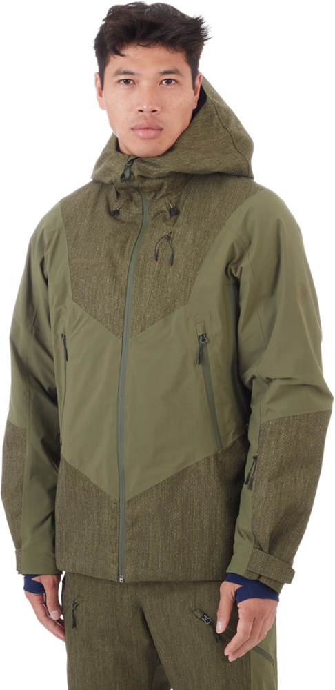 Mammut Men's Cambrena Thermo Hooded Hardshell Insulated Jacket