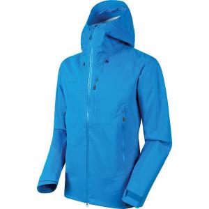 Mammut Men's Kento Hardshell Hooded Jacket - Medium - Gentian