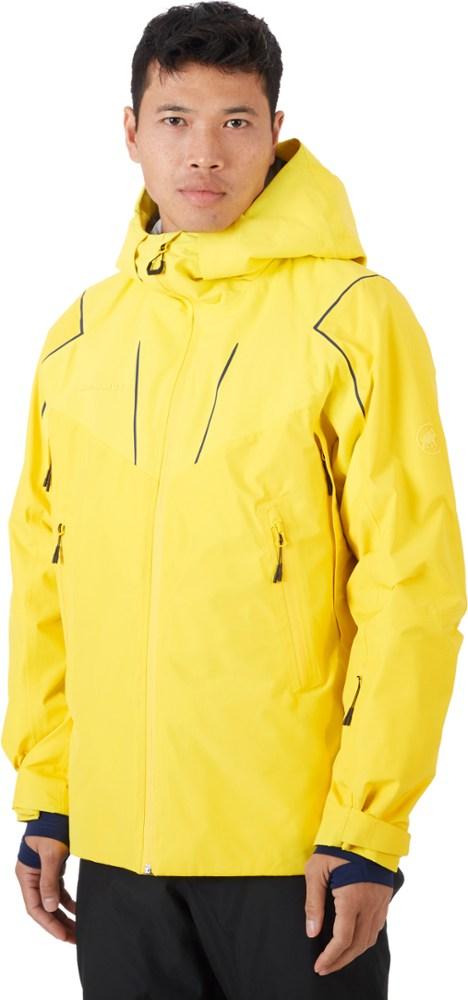 Mammut Men's Scalottas Thermo Hooded Hardshell Insulated Jacket