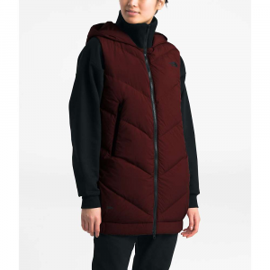 The North Face Women's Albroz Vest - Small - Deep Garnet Red