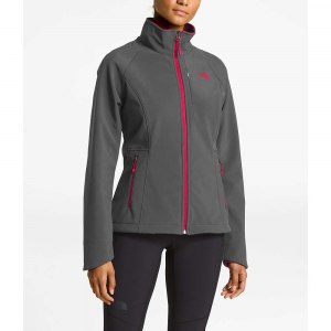The North Face Women's Apex Bionic 2 Jacket - Small - Asphalt Grey / Atomic Pink
