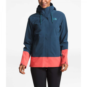 The North Face Women's Apex Flex DryVent Jacket - Small - Blue Wing Teal / Spiced Coral