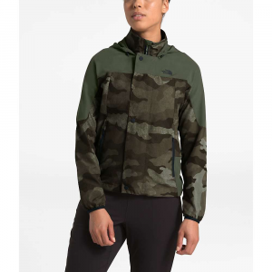 The North Face Women's Beyond The Wall Jacket - Small - New Taupe Green Waxed Camo Print / New Taupe Green