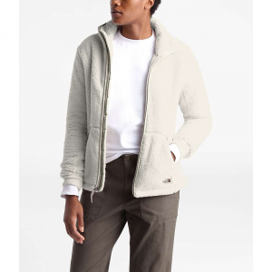 The North Face Women's Campshire Full Zip Jacket - Small - Vintage White / Dove Grey