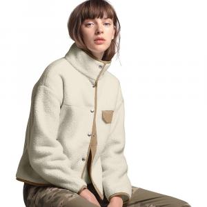 The North Face Women's Cragmont Fleece Jacket - XL - Vintage White / Kelp Tan