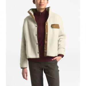 The North Face Women's Cragmont Fleece Jacket - XXL - Vintage White / Cedar Brown