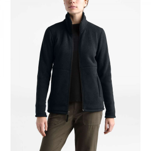 The North Face Women's Crescent Full Zip Jacket - Small - TNF Black Heather