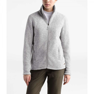 The North Face Women's Crescent Full Zip Jacket - Small - TNF Light Grey Heather