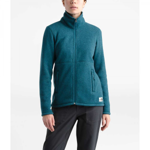 The North Face Women's Crescent Full Zip Jacket - XS - Blue Coral Black Heather