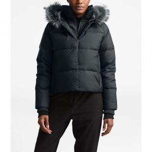 The North Face Women's Dealio Down Crop Jacket - Medium - Asphalt Grey