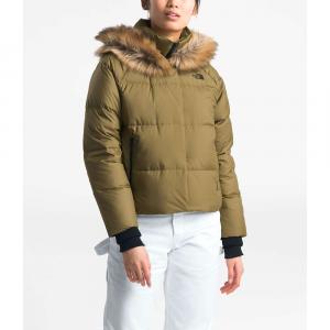 The North Face Women's Dealio Down Crop Jacket - Medium - British Khaki