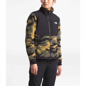 The North Face Women's Denali 2 Jacket - Small - Burnt Olive Green Woods Camo Print