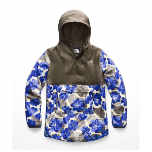 The North Face Women's Fanorak Printed Jacket - Small - New Taupe Green / Aztec Blue Desert Floral Print