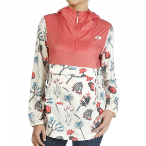The North Face Women's Fanorak Printed Jacket - Small - Spiced Coral / Vintage White Joshua Tree Print