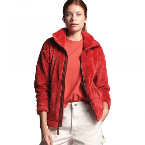 The North Face Women's Furry Fleece 2.0 Jacket - Small - Sunbaked Red