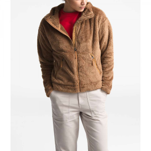 The North Face Women's Furry Fleece Hoodie - Large - Cedar Brown