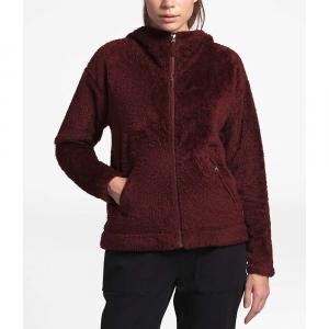 The North Face Women's Furry Fleece Hoodie - Large - Deep Garnet Red
