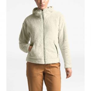 The North Face Women's Furry Fleece Hoodie - Medium - Vintage White/Dove Grey