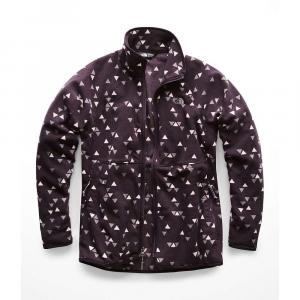 The North Face Women's Glacier Alpine Full Zip Jacket - Small - Galaxy Purple Sparse Triangle Print