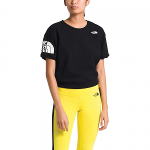 The North Face Women's Graphic Collection SS Crew - Small - TNF Black