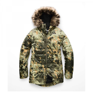 The North Face Women's Harway Insulated Parka - Small - New Taupe Green Macrofleck Print