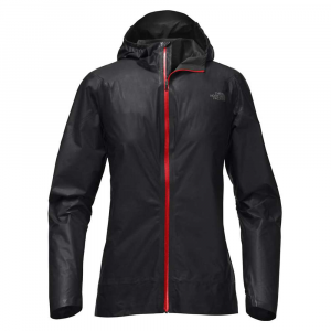The North Face Women's HyperAir GTX Trail Jacket - Small - TNF Black / Juicy Red