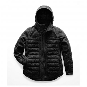 The North Face Women's Indi Insulated Parka - Large - TNF Black Heather