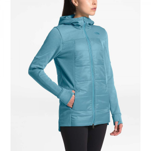 The North Face Women's Motivation Hybrid Long Jacket - Small - Storm Blue