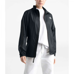 The North Face Women's NSE Graphic Wind Jacket - Large - TNF Black / TNF White Logo