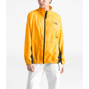 The North Face Women's NSE Graphic Wind Jacket - Large - TNF Yellow / TNF Black