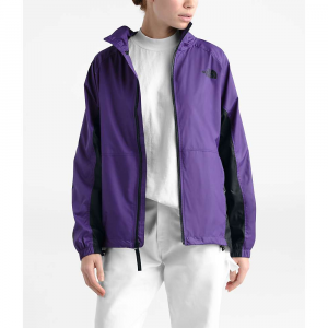 The North Face Women's NSE Graphic Wind Jacket - Small - Hero Purple / TNF Black