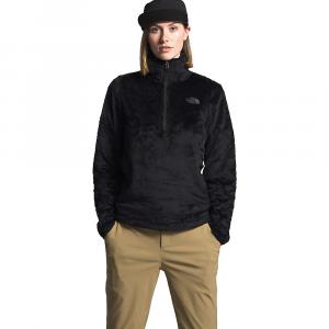 The North Face Women's Osito Hybrid 1/4 Zip Jacket - Small - TNF Black