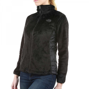 The North Face Women's Osito Hybrid Full Zip Jacket - Large - TNF Black