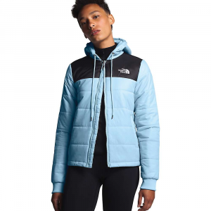 The North Face Women's Pardee Insulated Jacket - Large - Angel Falls Blue / TNF Black