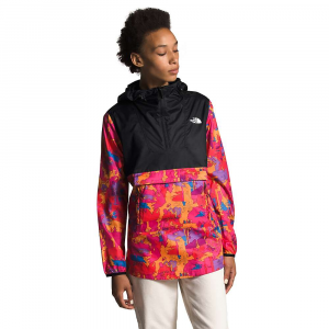 The North Face Women's Printed Fanorak - XXL - Mr. Pink New Dimensions Print / TNF Black