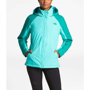 The North Face Women's Resolve Insulated Jacket - Small - Mint Blue / Kokomo Green