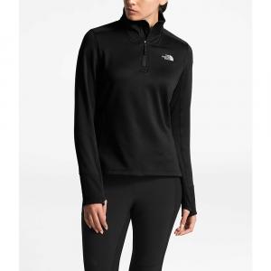 The North Face Women's Shastina Stretch 1/4 Zip Jacket - Small - TNF Black / TNF Black