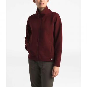The North Face Women's Sibley Fleece Full Zip Jacket - Medium - Deep Garnet Red Heather