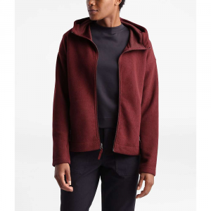 The North Face Women's Sibley Fleece Hoodie - Small - Deep Garnet Red Heather