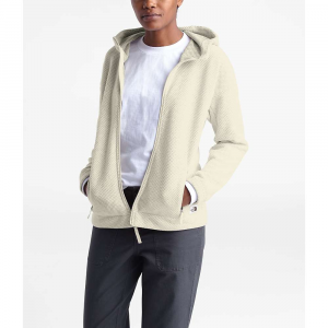 The North Face Women's Sibley Fleece Hoodie - Small - Vintage White Heather