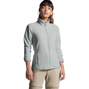 The North Face Women's TKA Glacier Full Zip Jacket - Large - Tin Grey