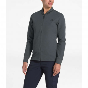 The North Face Women's Tekno Ridge Full Zip Jacket - Large - Asphalt Grey / Asphalt Grey