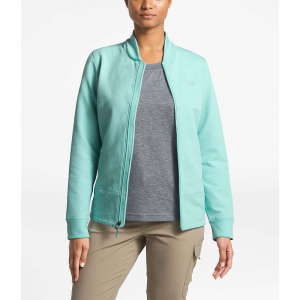 The North Face Women's Tekno Ridge Full Zip Jacket - Small - Canal Blue / Canal Blue